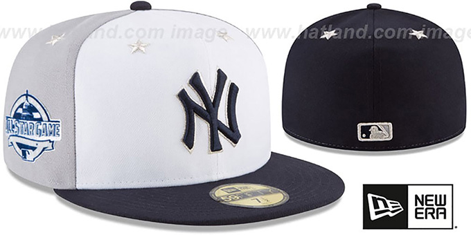 New York Yankees 2018 MLB ALL-STAR GAME Fitted Hat 2ed0262d495