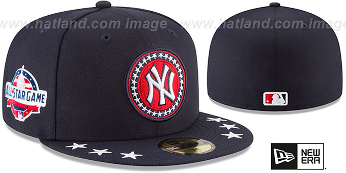 New York Yankees 2018 MLB ALL-STAR WORKOUT Fitted Hat bca6f6472b9