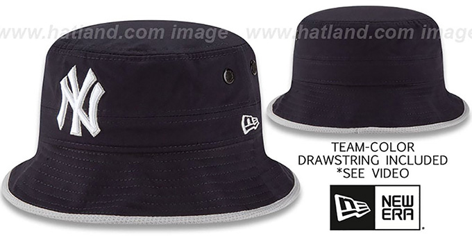 8d044ce4e8d ... reduced yankees basic action navy bucket hat by new era 7ccab 9f66c