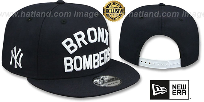 43c87ae2 New York Yankees BRONX BOMBERS SNAPBACK Navy Hat by New ...