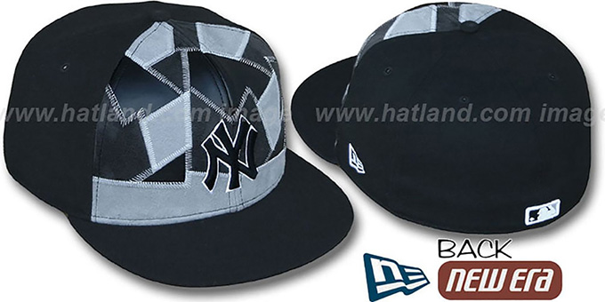Yankees 'CUT N PASTE' Fitted Hat by New Era : pictured without stickers that these products are shipped with