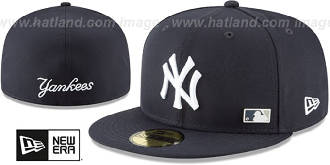 b20a37857f6b1 ... New Era. Yankees  FLAWLESS PINNED-UP  Navy Fitted Hat by ...