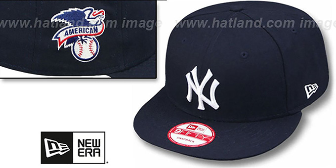 Yankees 'LEAGUE REPLICA GAME SNAPBACK' Hat by New Era : pictured without stickers that these products are shipped with