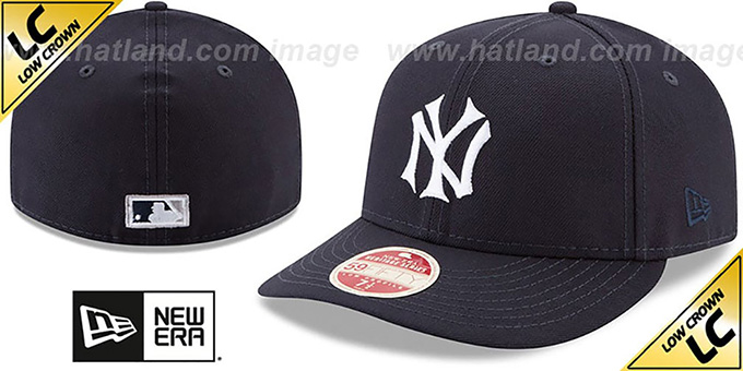 Yankees 'LOW-CROWN VINTAGE' Fitted Hat by New Era