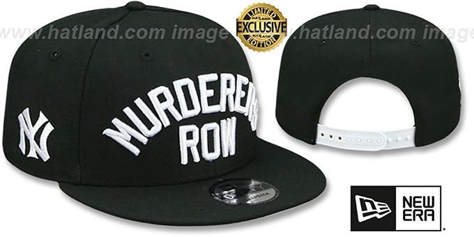 fbd1bbf673516 New York Yankees MURDERERS ROW SNAPBACK Black Hat by ...