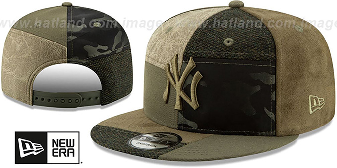 Yankees 'PATCHWORK PREMIUM SNAPBACK' Hat by New Era