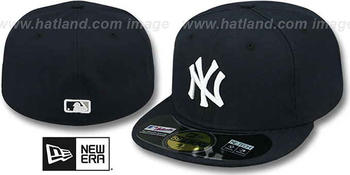 Yankees 'PERFORMANCE GAME' Hat by New Era : pictured without stickers that these products are shipped with
