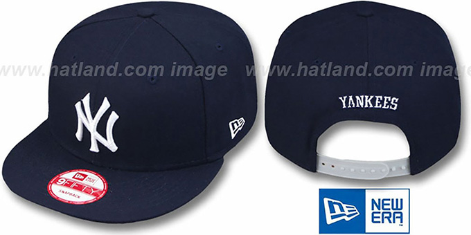 Yankees 'REPLICA GAME SNAPBACK' Hat by New Era : pictured without stickers that these products are shipped with