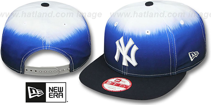 Yankees 'SUBLENDER SNAPBACK' Navy-White Hat by New Era : pictured without stickers that these products are shipped with