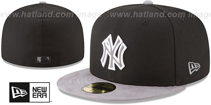 Yankees 'TONAL-CHOICE' Black Fitted Hat by New Era