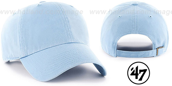 47 'BLANK CLASSIC STRAPBACK' Sky Adjustable Hat