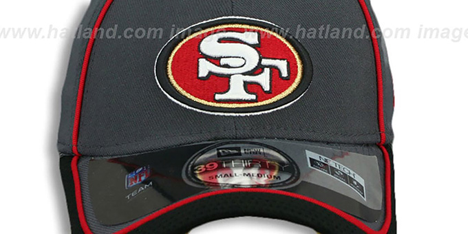 49ers '2014 NFL STADIUM FLEX' Grey Hat by New Era