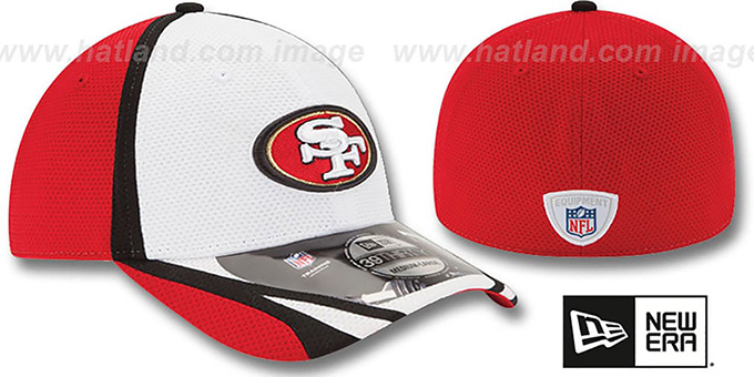 49ers '2014 NFL TRAINING FLEX' White Hat by New Era