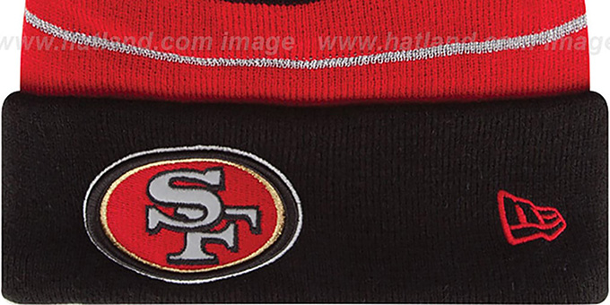 49ers 'THANKSGIVING DAY' Knit Beanie Hat by New Era
