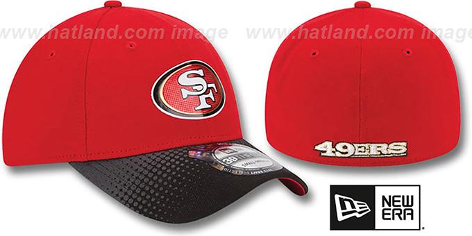 the best attitude d5543 ac6d2 San Francisco 49ers 2015 NFL DRAFT FLEX Hat by New Era