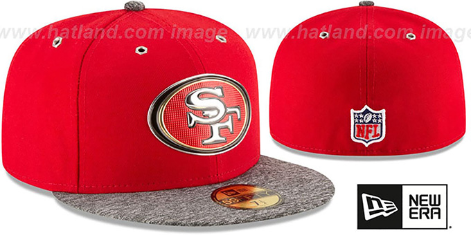 49ers '2016 NFL DRAFT' Fitted Hat by New Era