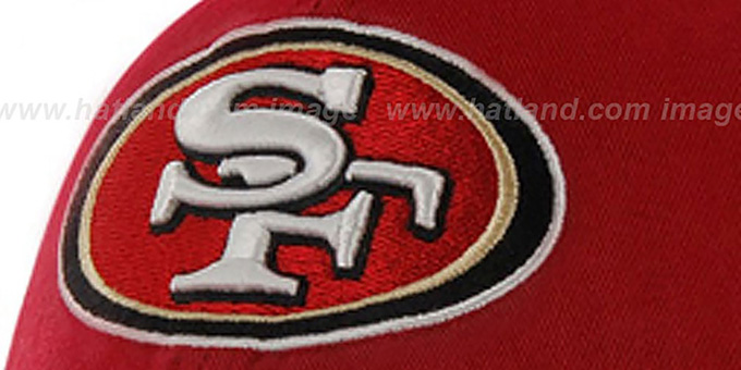 49ers 'NFL FRANCHISE' Burgundy Hat by 47 Brand