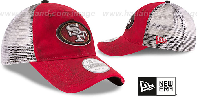 49ers 'RUSTIC TRUCKER SNAPBACK' Hat by New Era