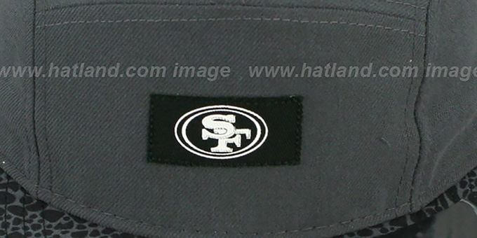 49ers 'SAFARI CAMPER STRAPBACK' Grey Hat by New Era