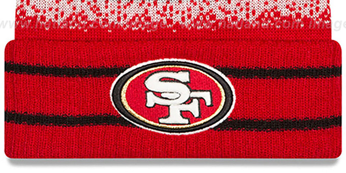 49ers 'SPEC-BLEND' Knit Beanie Hat by New Era