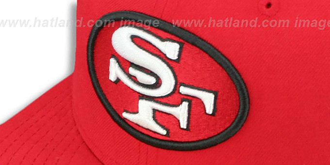 49ers 'SUPER BOWL XXIII' Red Fitted Hat by New Era