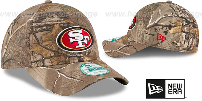 49ers 'THE LEAGUE REALTREE' Strapback Hat by New Era