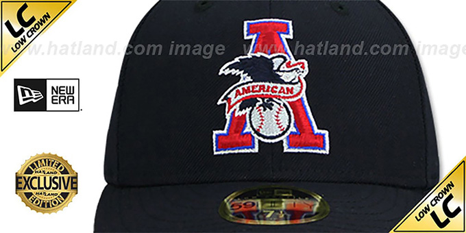 American League 'LOW-CROWN MLB UMPIRE' Navy Hat by New Era