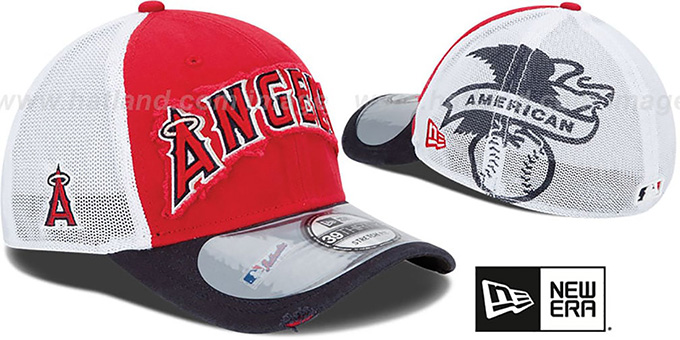 Angels '2013 CLUBHOUSE' 39THIRTY Flex Hat by New Era