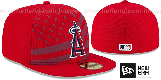 New Era American Flag Hat Hat by New Era Angels '