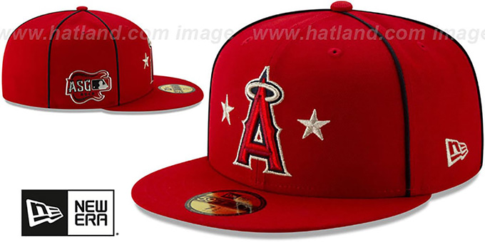 Angels '2019 MLB ALL-STAR GAME' Fitted Hat by New Era