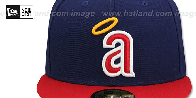 5c8b998d3856b California Angels CAREW Fitted Hat by New Era