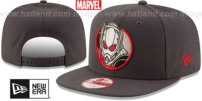 Antman 'RETROFLECT SNAPBACK' Grey Hat by New Era
