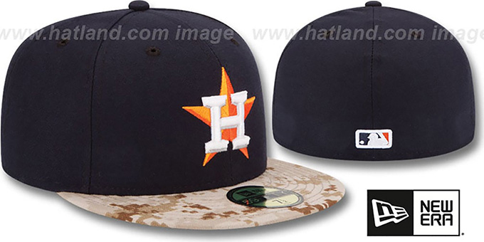 Astros '2015 STARS N STRIPES' Fitted Hat by New Era