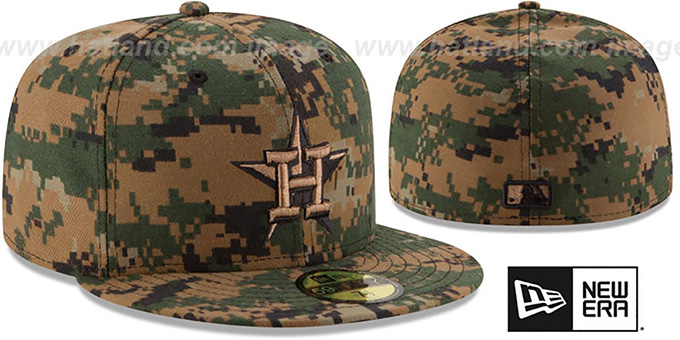 Astros 2016 MEMORIAL DAY 'STARS N STRIPES' Hat by New Era