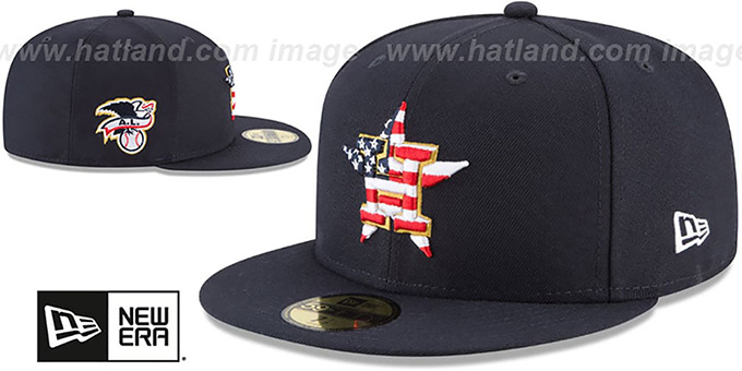 af83f5b6ee277a ... italy astros 2018 july 4th stars n stripes navy fitted hat by new era  5a17d 68ab7