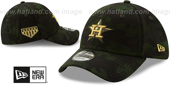 separation shoes 1e182 57039 ... Astros 2019 ARMED FORCES  STARS N STRIPES FLEX  Hat by New Era ...