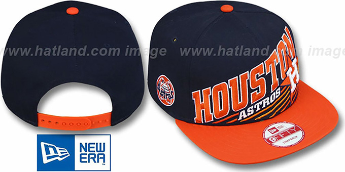 Astros COOP 'STILL ANGLIN SNAPBACK' Navy-Orange Hat by New Era