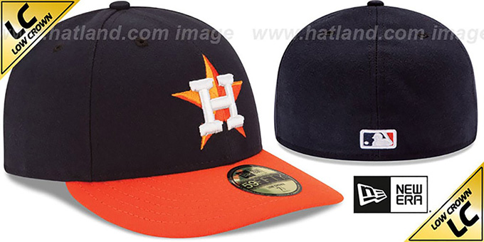 Astros 'LOW-CROWN' ROAD Fitted Hat by New Era