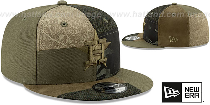 Astros 'PATCHWORK PREMIUM SNAPBACK' Hat by New Era