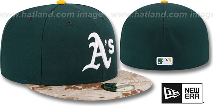 Athletics '2015 STARS N STRIPES' Fitted Hat by New Era