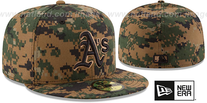 Athletics 2016 MEMORIAL DAY 'STARS N STRIPES' Hat by New Era