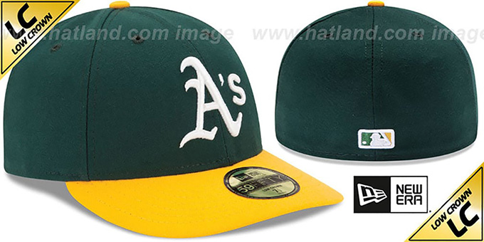 Athletics 'LOW-CROWN' HOME Fitted Hat by New Era