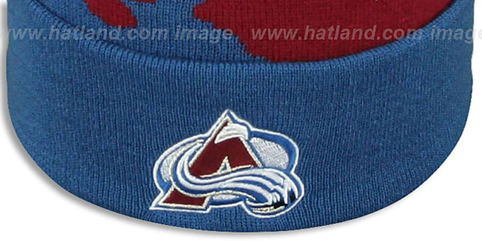 Avalanche 'PAINTBRUSH BEANIE' by Mitchell and Ness