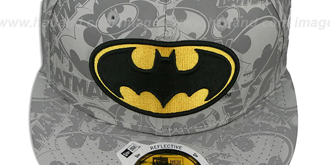 Batman 'COMIC REFLECT' Fitted Hat by New Era