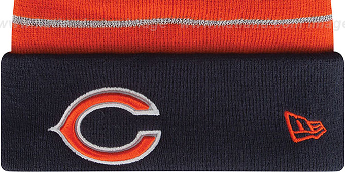 Bears  'THANKSGIVING DAY' Knit Beanie Hat by New Era