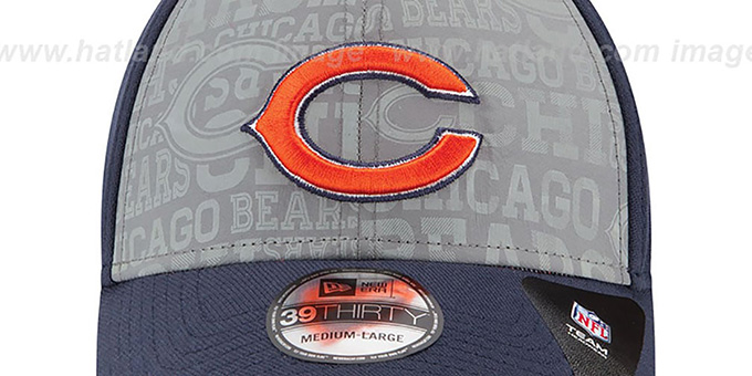 Bears '2014 NFL DRAFT FLEX' Navy Hat by New Era