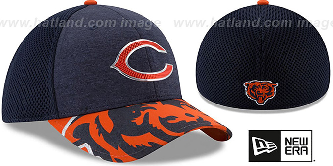 Bears '2017 NFL ONSTAGE FLEX' Hat by New Era