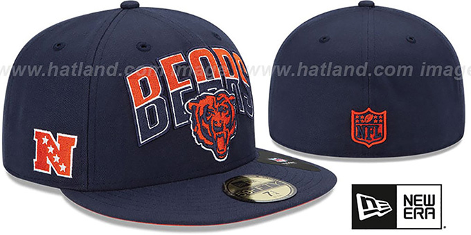 Bears 'NFL 2013 DRAFT' Navy 59FIFTY Fitted Hat by New Era