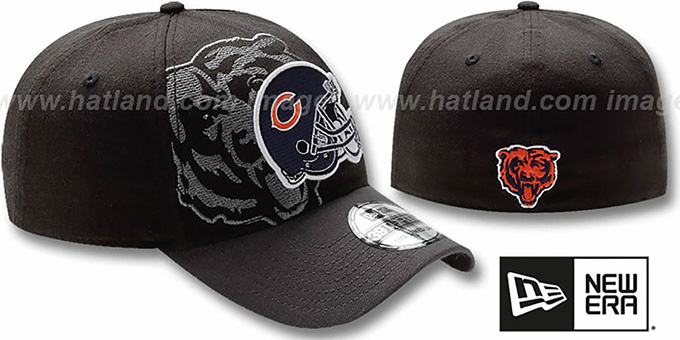 Bears 'NFL BLACK-CLASSIC FLEX' Hat by New Era