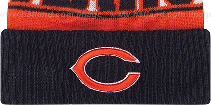 Bears 'REP-UR-TEAM' Knit Beanie Hat by New Era